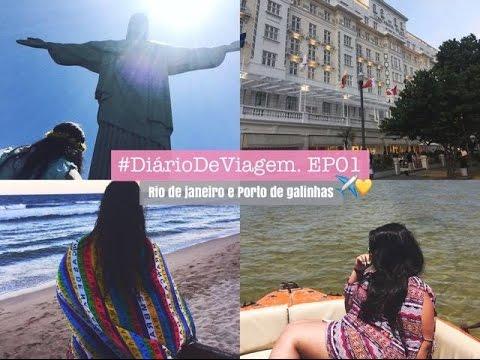 Diário De Viagem - EP01 Rio de Janeiro e Porto De Galinhas ♡