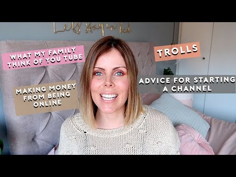 MAKING MONEY FROM YOU TUBE/NEGATIVITY/ADS/INSPIRATION - ONLINE/SOCIAL MEDIA Q&A