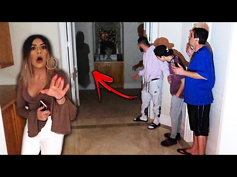 A GHOST IS HAUNTING US! *Caught on Camera*