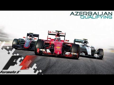 F1 2016 - AZERBAIJAN - Qualifying!