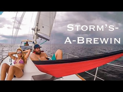 Running Aground and Tropical Storm Anchorage (Ep. 5 ~Bums on a Boat)