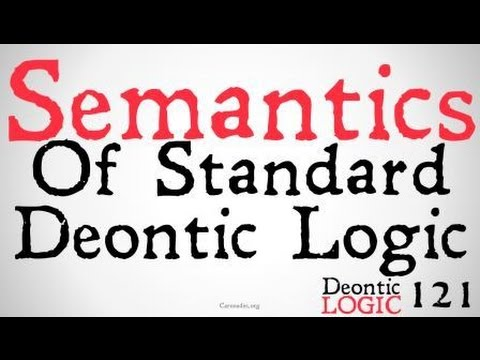 The Semantics of Standard Deontic Logic