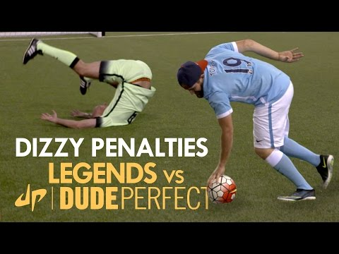 Make DIZZY PENALTIES | Manchester City Legends v The Dudes Pics