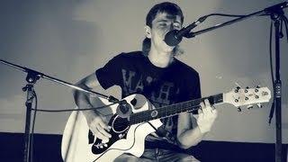 NoizeMC - Выдыхай and Из окна на гитаре (cover) ЛешийТВ