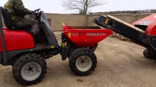 NEUSON 4X4 SKIP LOADING DUMPER FOR SALE EBAY FROM 19/3/15
