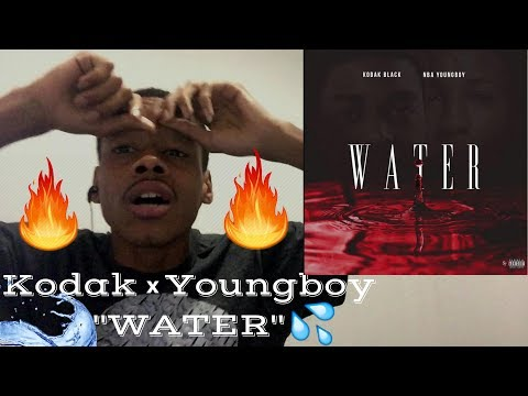 """Kodak Black Feat. NBA YoungBoy """"Water"""" (WSHH Exclusive - Official Audio) - Reaction"""