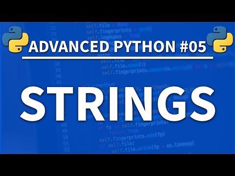 Strings in Python - Advanced Python 05 - Programming Tutorial thumbnail