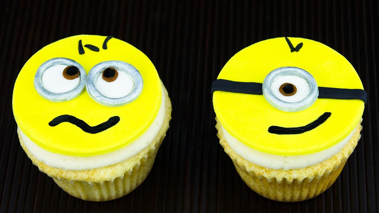 Despicable Me Cupcakes Minion Cupcakes By Cookies