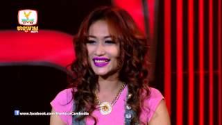 The Voice Cambodia - ចិន្តា វីត្តា -  មានបទចម្រៀងមួយណាដើម្បីឲ្យបងនឺកអូន - 31 Aug 2014