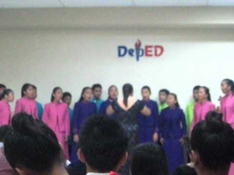 "Regional Chorale Competition ""Kundiman Ni Rizal""  Davao City"