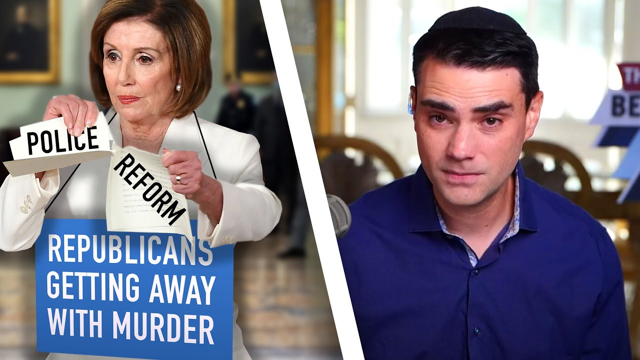 INSANE: Pelosi Says Republicans Are COVERING UP Floyd Killing After Dems REJECT Police Reform Bill
