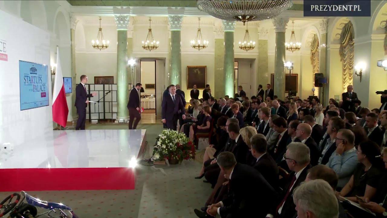 """""""Startupy w Pałacu Globalnie"""" – z udziałem Prezydenta RP Andrzeja Dudy"""