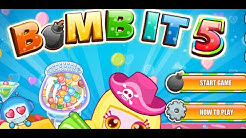 Bomb it 5 Full Gameplay Walkthrough All levels