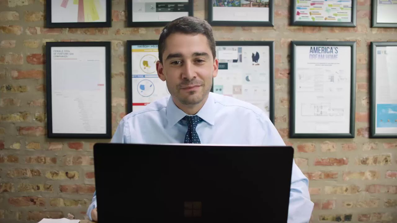Commercial for CDW and Microsoft