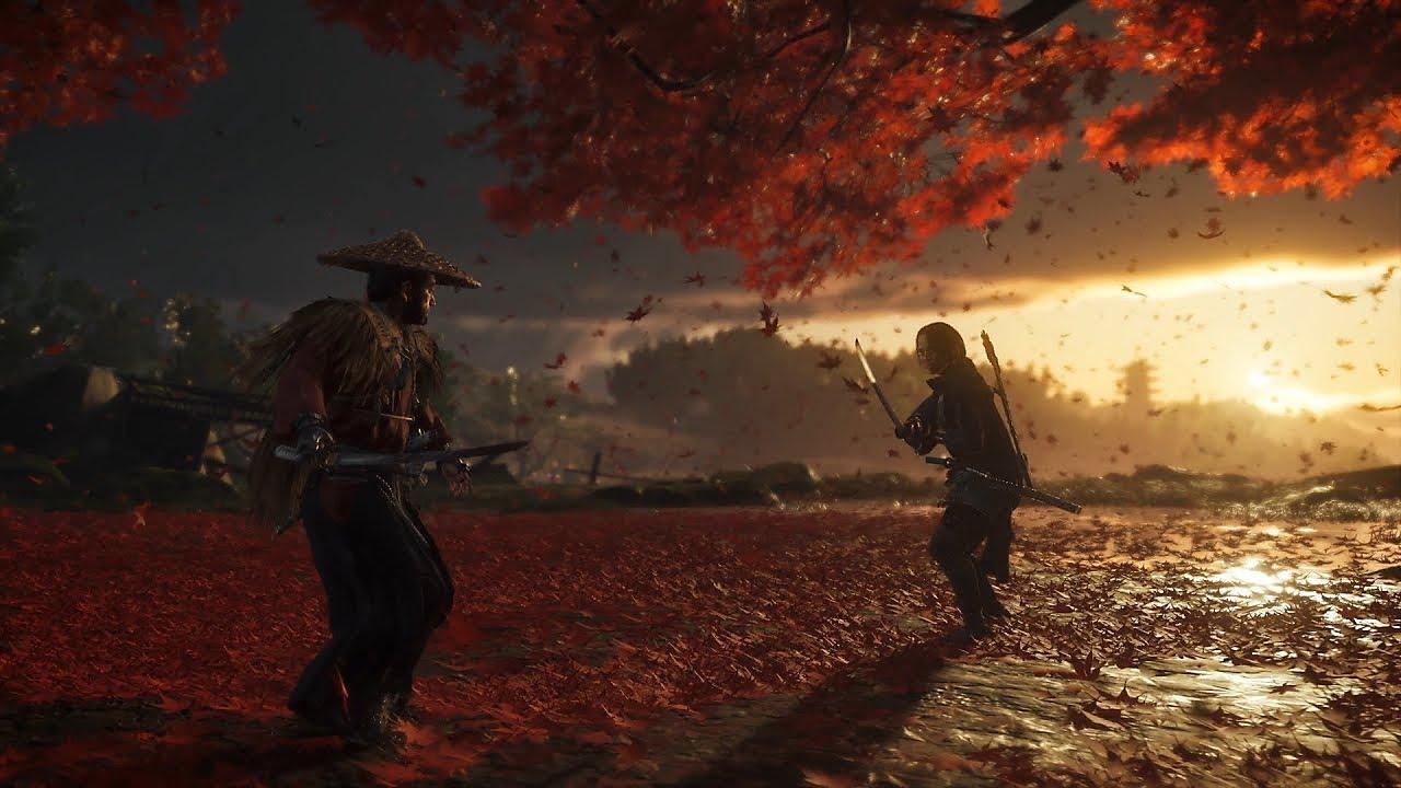 PS4《Ghost of Tsushima》E3 2018 實機遊玩片段 (中文字幕) - YouTube