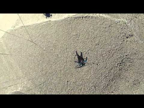 Landing neat the Lithium mines, Salar of Atacama