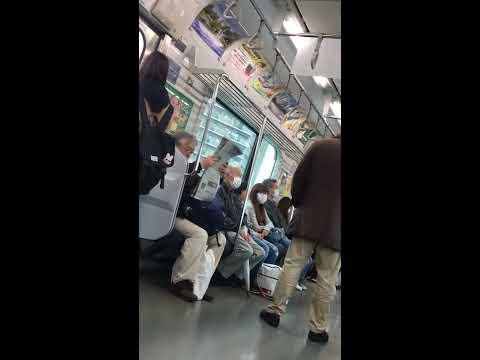 【DQN】電車内でガチギレする迷惑ジジイ(概要欄必読)