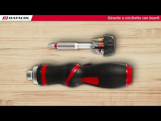 Giravite cricchetto ed inserti (K760220)