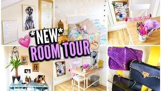 MY BEDROOM TOUR 2016!