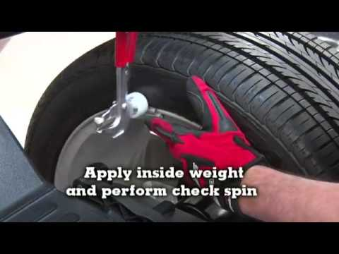 John Bean B400L Wheel Balancing System