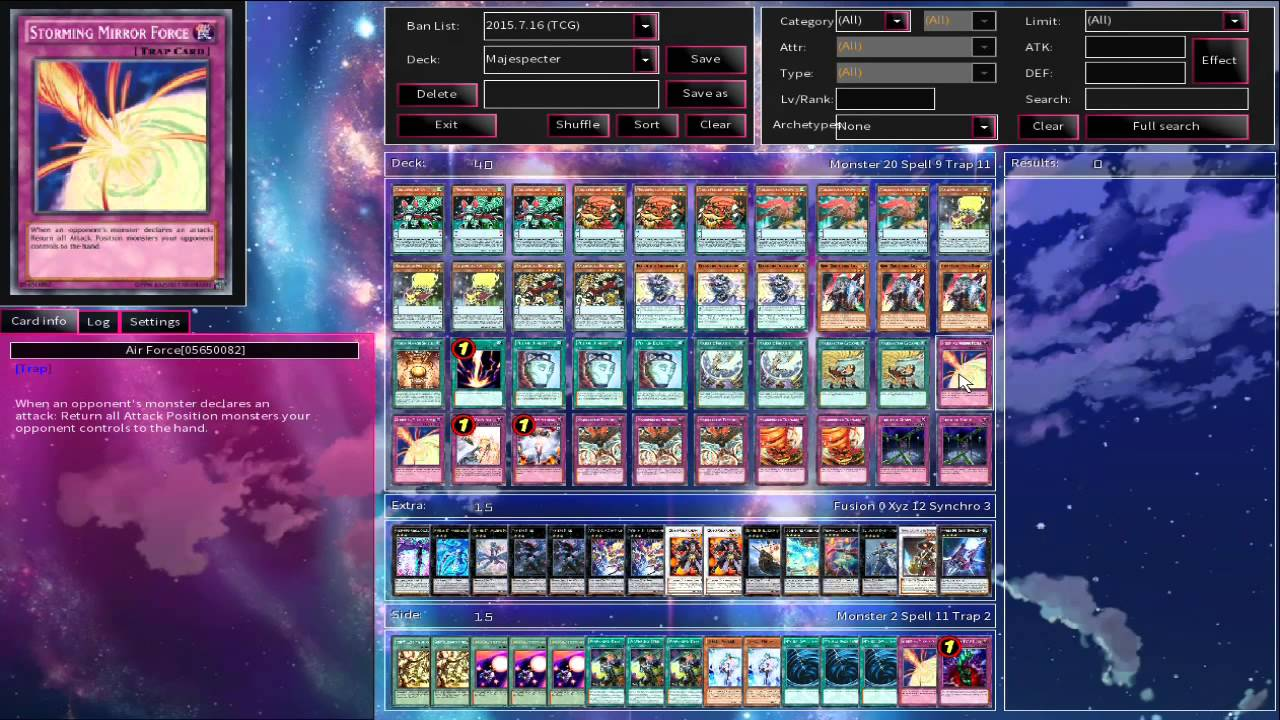 how to make multiple decks on ygopro