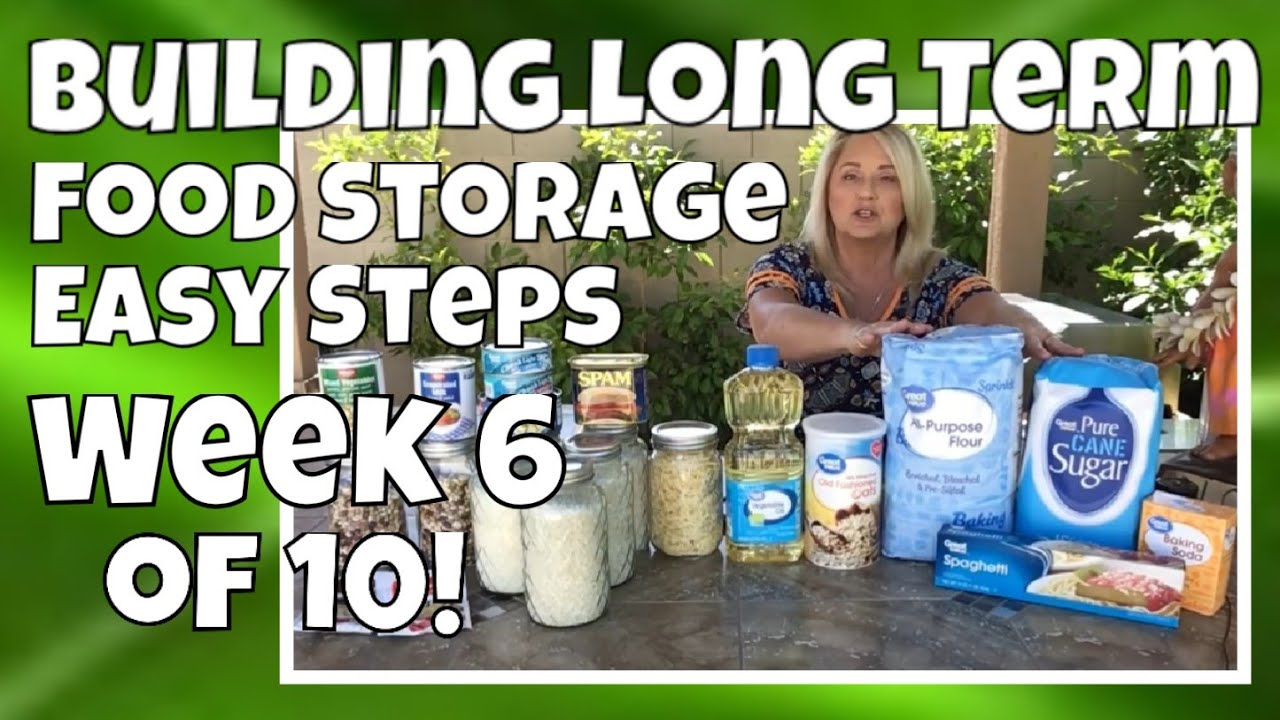 #6 Start Prepping! Preparedness Food Storage | SHTF | Doomsday