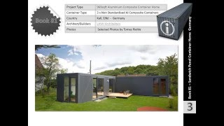 Shipping Container Homes Book 81 Al Sandwich Panel Home Germany