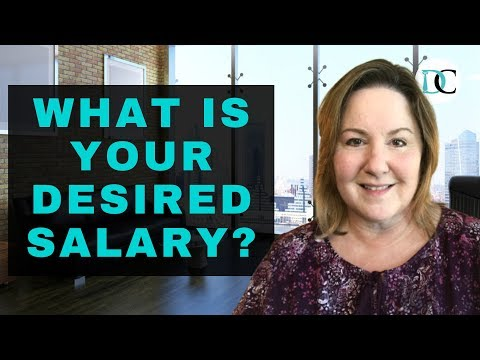 What Is Your Desired Salary - SALARY REQUIREMENTS EXAMPLES