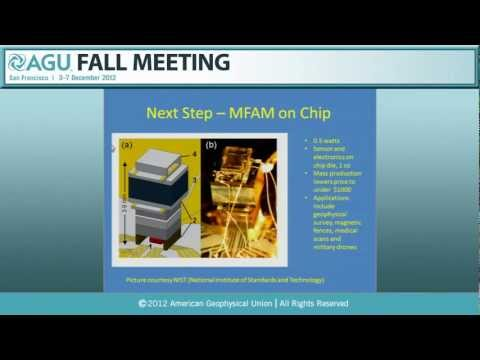 AGU Fall Meeting 2012 - Applications for miniaturized Macro-FAM laser-pumped magnetometer