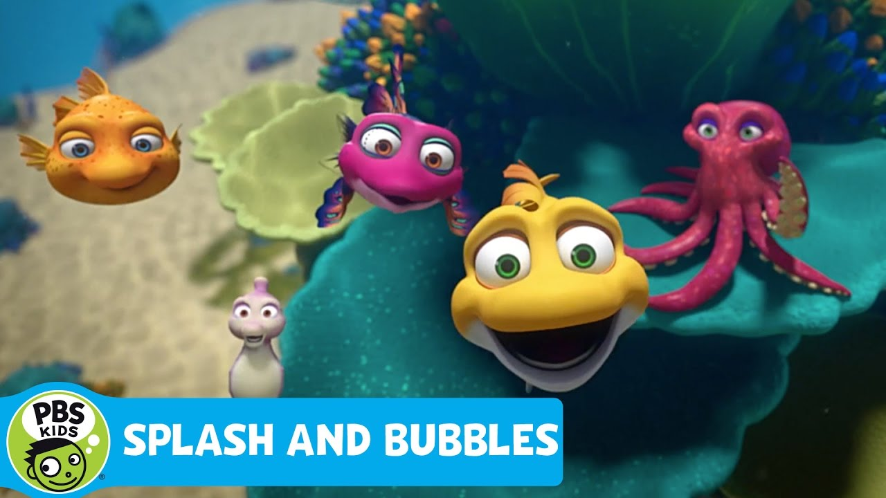 SPLASH AND BUBBLES   Theme Song   PBS KIDS - YouTube
