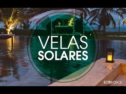 ECOFORCE - VELAS SOLARES