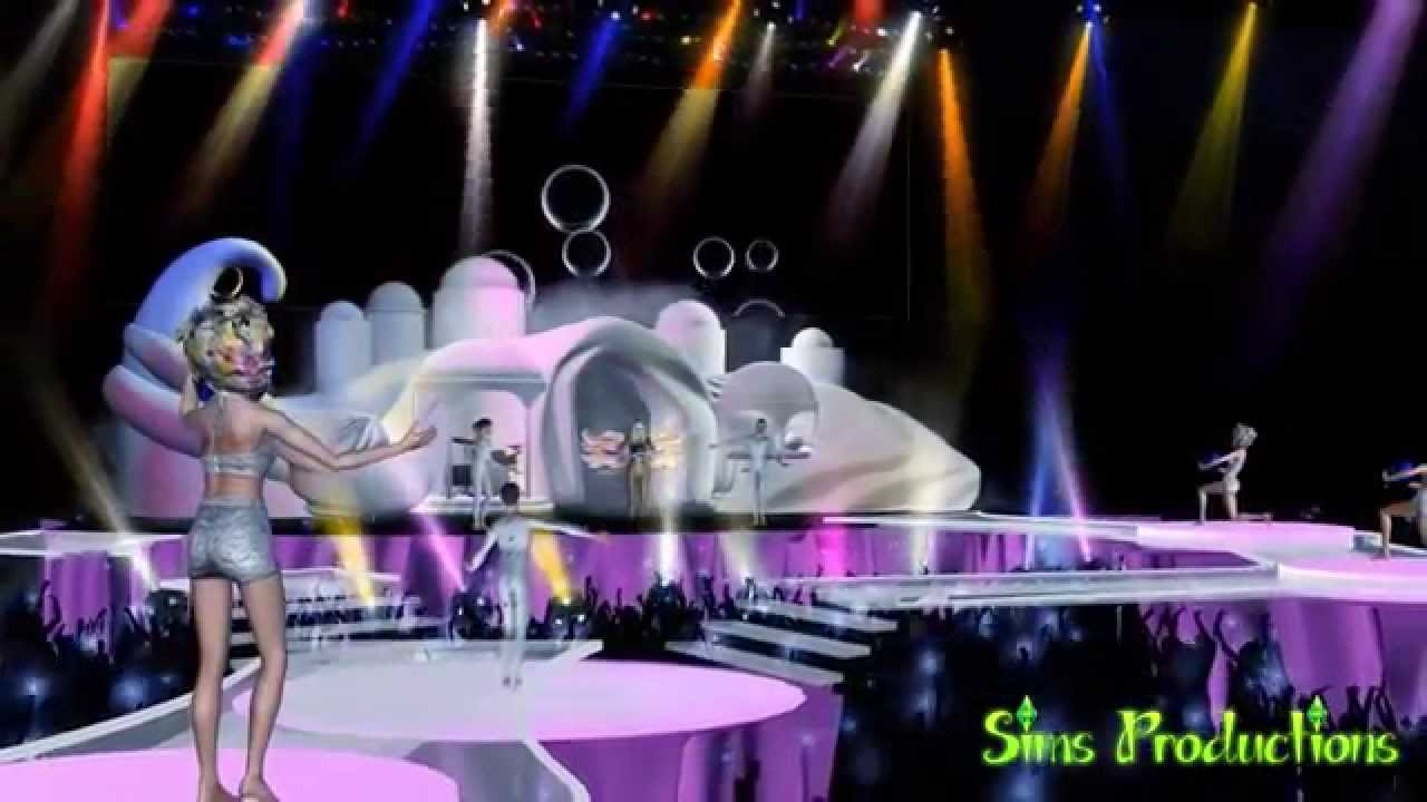 Lady Gagas artRAVE The ARTPOP Ball The Sims 3  YouTube