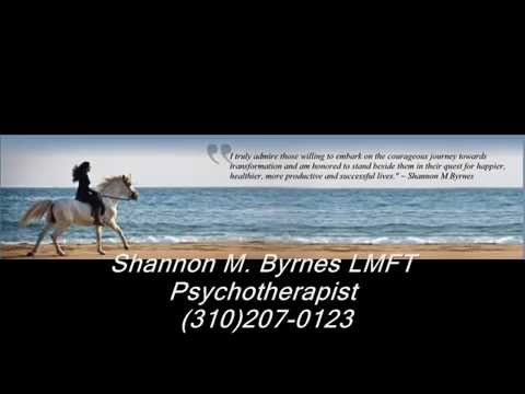 SHANNON M  BYRNES,THERAPIST, PSYCHOTHERAPIST SANTA MONICA CA,WEST LOS ANGELES,CENTURY CITY,BRENTWOOD