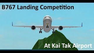 [ROBLOX] Kai Tak Approach Landing Competition!