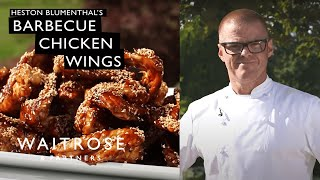 Heston Blumenthal&#39s Barbecue Chicken Wings  Waitrose