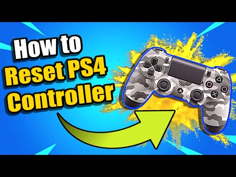 How To Reset PS4 Controller & Connect to PS4 (Easy Method)