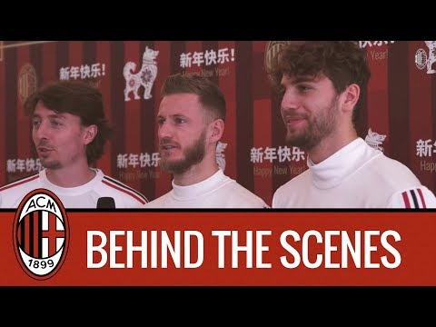 Chinese New Year greetings video: behind-the-scenes