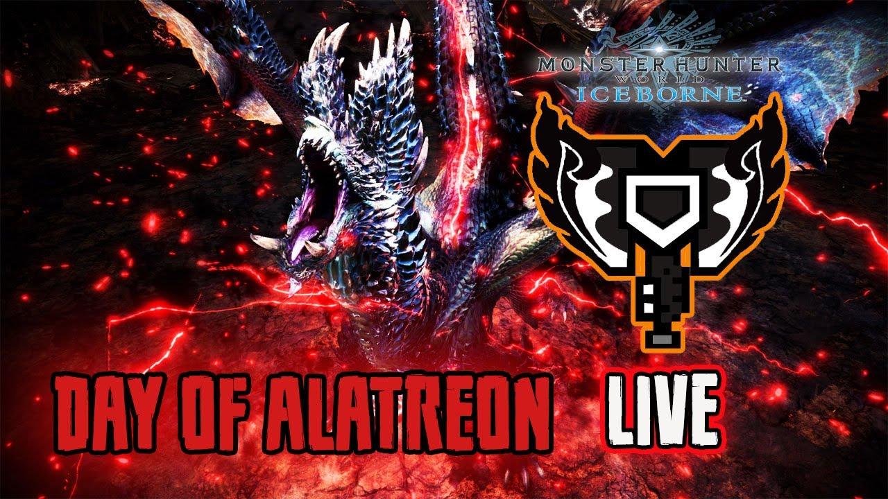 "[ PS4 ] MHW Iceborne : Blazing Black Dragon ""Alatreon"""