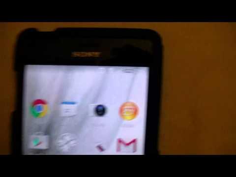 Sony Z3 Alarm Clock