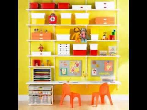DIY Toy room organization decorating ideas - YouTube
