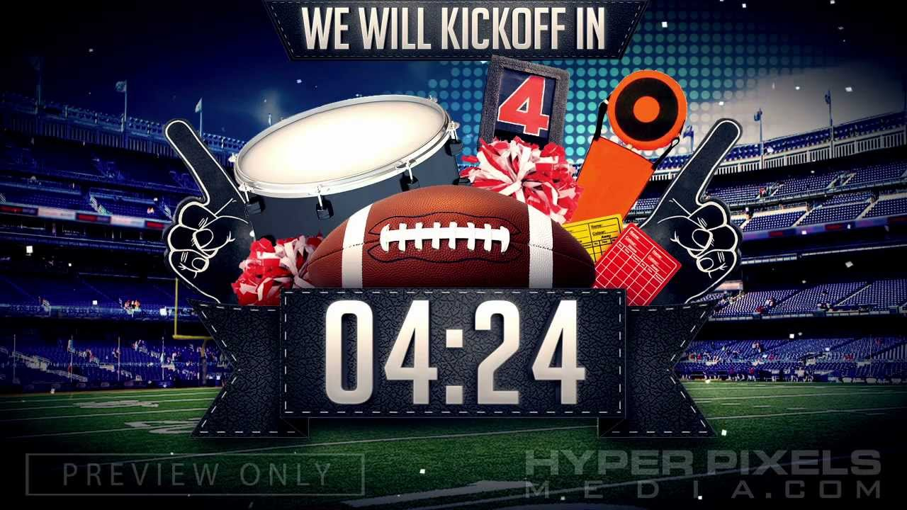 football countdown