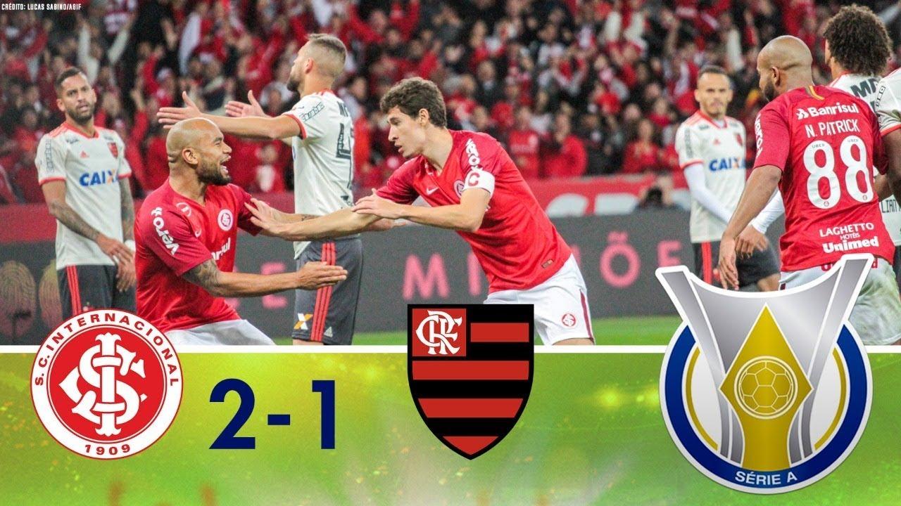 Melhores Momentos Internacional 2 X 1 Flamengo Campeonato Brasileiro 05092018