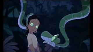 Shanti and Kaa's encounter