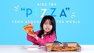 "Kids Try ""Pizza"" from Around the World 