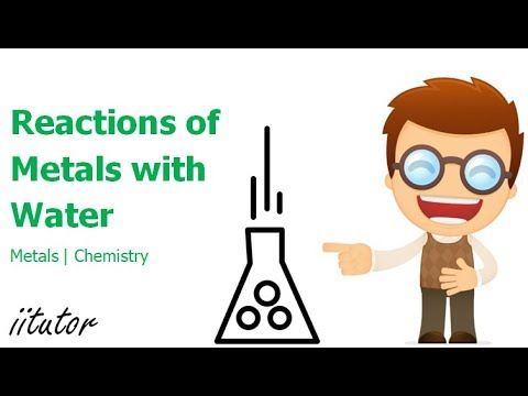 √ Reactions Of Metals With Water | Chemistry-