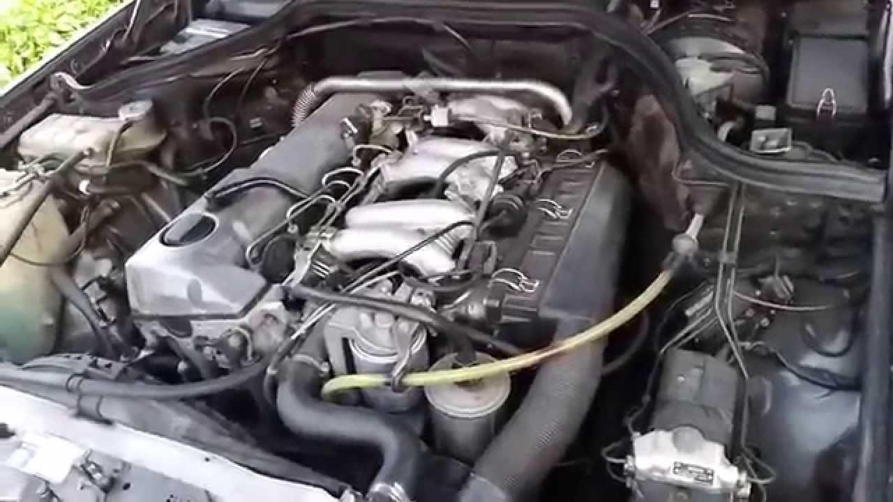 W124 300d Silnik 3 0d Om603 912 Youtube