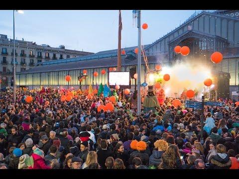 Barcelona Carnival 2016. Карнавал в Барселоне.