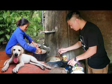 Download Về thăm Mướp, lần đầu Nô trổ tài nấu ăn cùng Ẩm Thực Mẹ Làm | Meet My Puppy After A Long Time