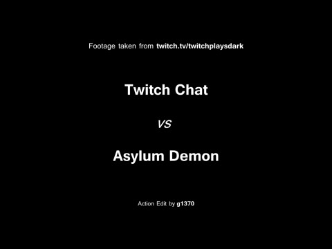 Twitch Plays Dark Souls - The Asylum Demon (Real-Time Edit)