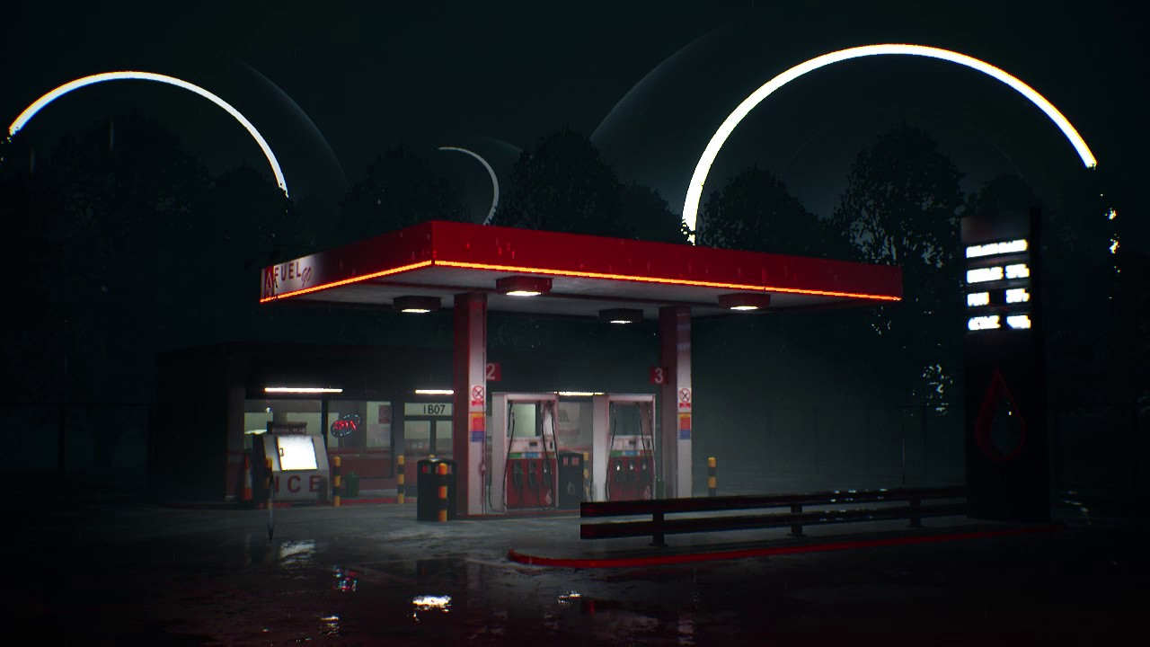 Find A Gas Station >> Gas Station Cinematic Test 02 - YouTube